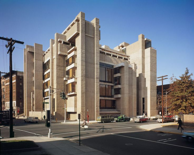 paul rudolph yale art and architecture building 1963