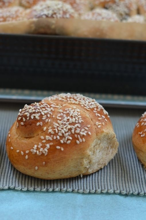 Spelt Flour Challah Rolls by Food Wanderings - Never can get enough ...