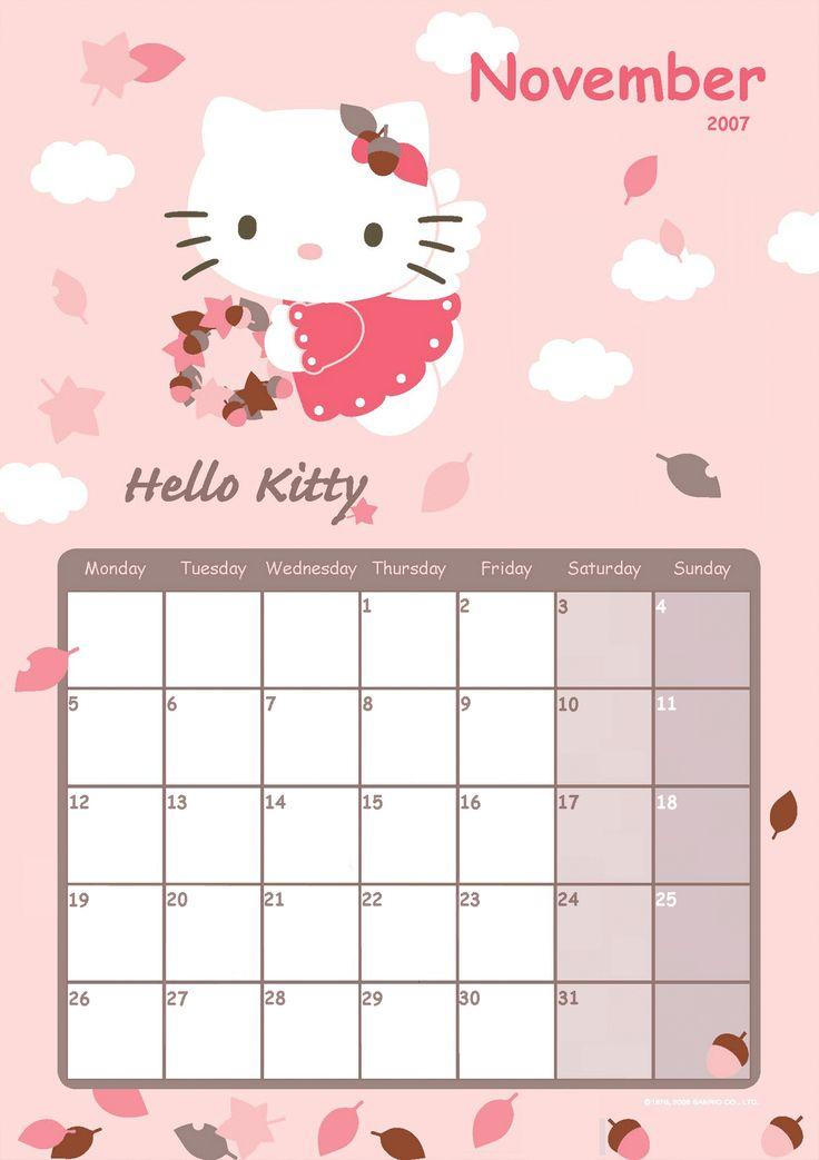 ... Hello Kitty Calendar 2015 | Search Results | 2016 Calendar Printable