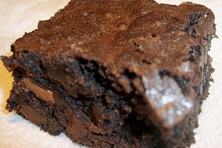 Dark Chocolate Brownies - from 2Ps | Recipes to try | Pinterest
