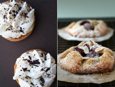 Banana Cream Tart and Cherry Galette | Pies, Tarts & Cobblers | Pinte ...