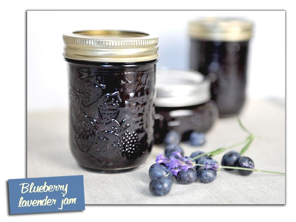 Blueberry Lavender Jam