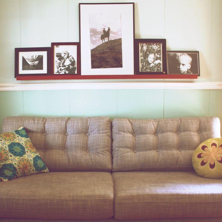 IKEA Hackers Living Room Karlstad Sofa Becomes Retro