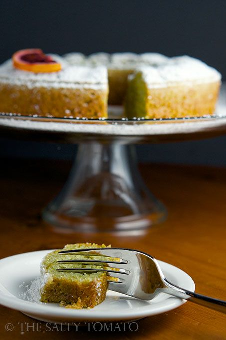 The Salty Tomato | Blood Orange Olive Oil Cake | http://the-salty ...