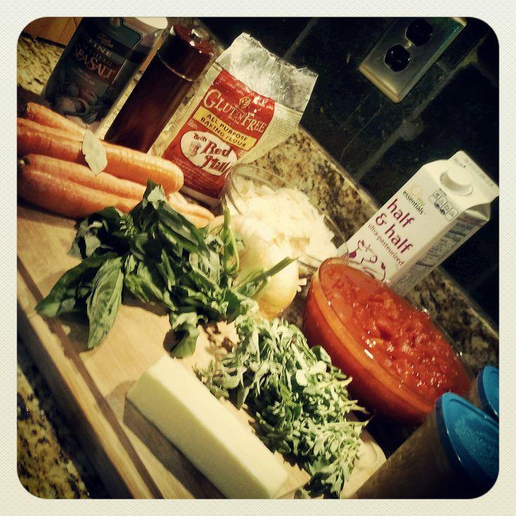 Creamy Tomato Basil Parmesan Soup | Gluten Free Survival | Pinterest