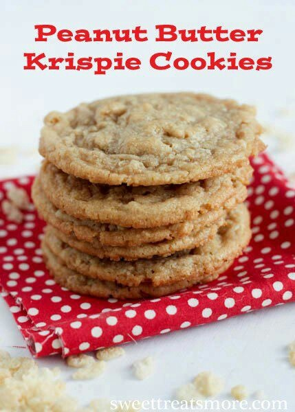 Peanut Butter Crisp Cookies | Cookies, Brownies, Bars and Candy | Pin ...