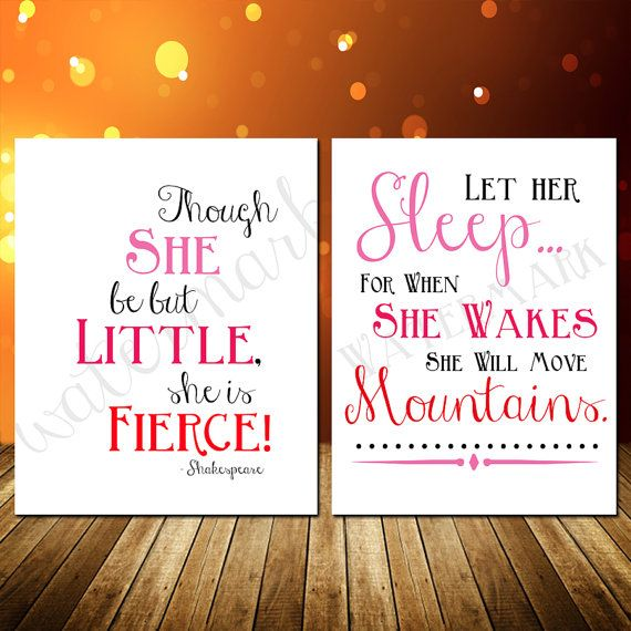 Girls bedroom baby nursery print set combo by createmoresleepless 7