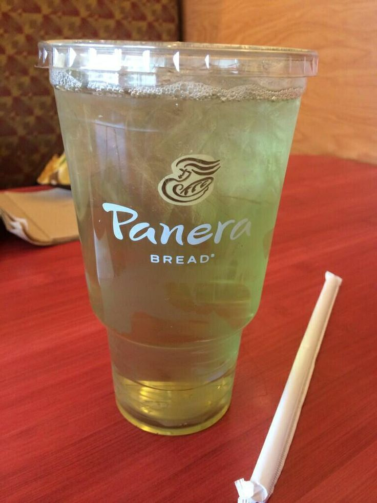 Panera's Iced Green Tea