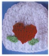 Little Sweetheart Hat - free crochet pattern for the heart