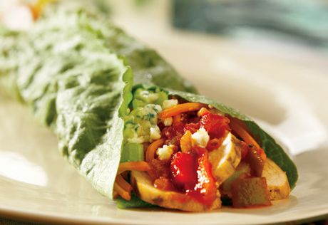 Buffalo Chicken Wrap | Recipe