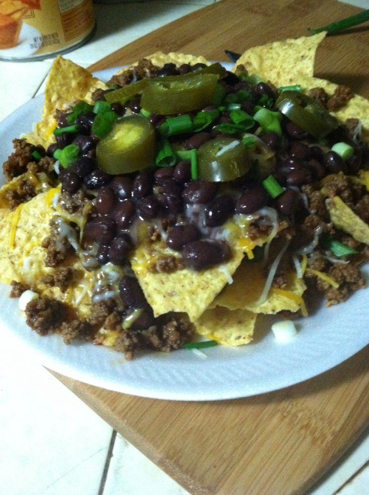Black bean nachos | FOOD CREATIONS BY DEETRA... | Pinterest