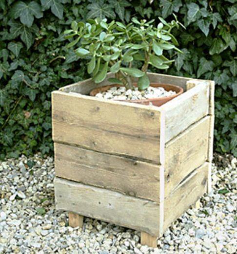 Pallet Planter DIY Pinterest