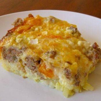 Breakfast Casserole | Recipes | Pinterest