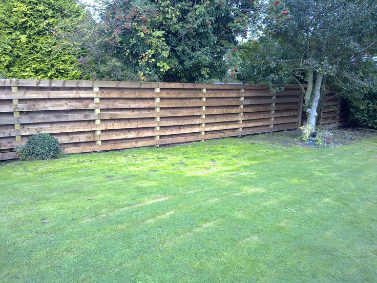 New Backyard Fence : Thinking of this style for our new garden fence