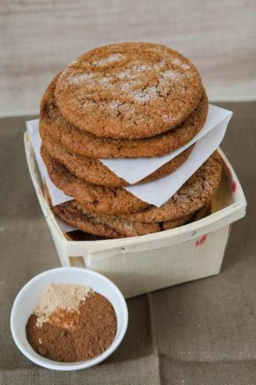 Joe Froggers without the rum....molasses cookie yum! These are my ...