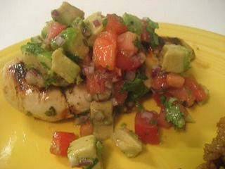 Cilantro Lime Chicken with Avocado Salsa | Appetizer/Snacks ...