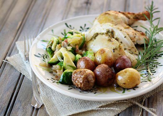 Citrus and Rosemary Roast Chicken- for Scott   Recipes~ Chicken ...