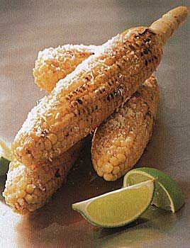 Corn on the Cob with Cheese and Lime | Recipe