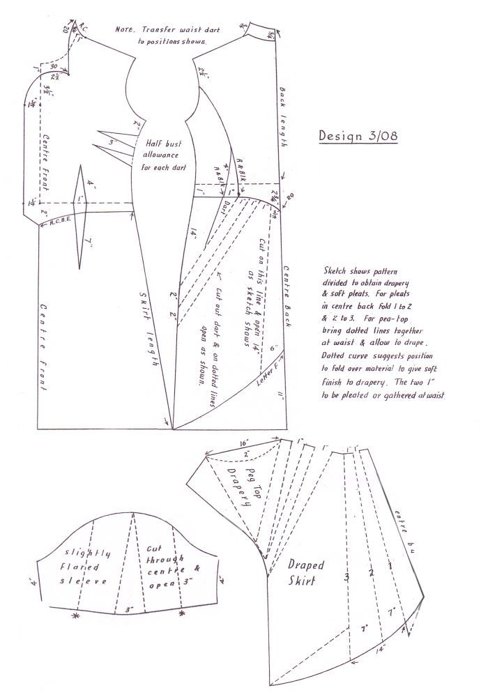 printable wedding dress pattern | DRESS CUTTING PATTERNS « Free Patterns