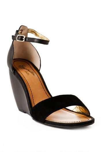 Seychelles Thyme Leather Wedge