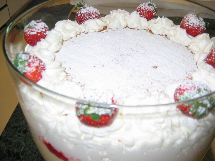 English Trifle | Dessert...the best part of a meal! | Pinterest