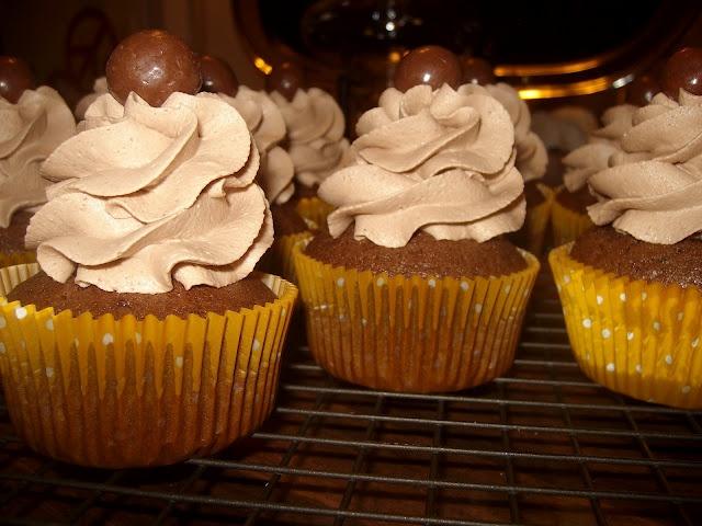 Chocolate Malt Cupcakes | Food and Drink | Pinterest