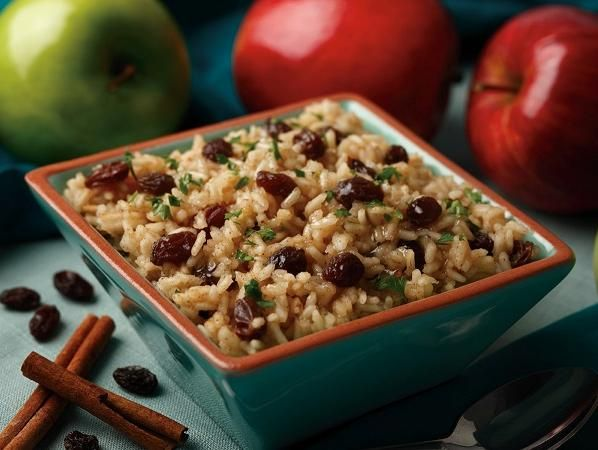 Cinnamon Apple Rice | Recipes to try | Pinterest