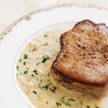 Pork Chops with Dijon Sauce | S v e n c i p e s
