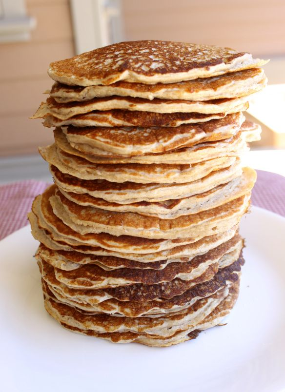 Cottage Cheese Pancakes. I made these the other day for the first time ...