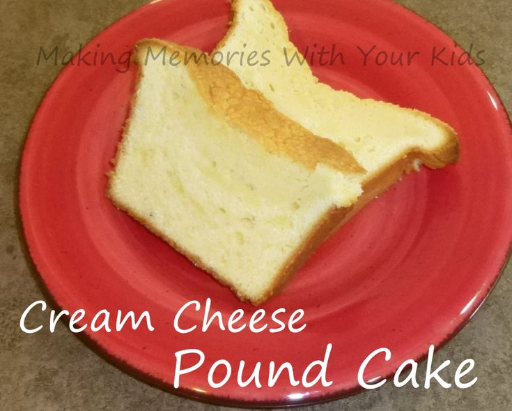 cream cheese pound cake | Sweet stuff | Pinterest