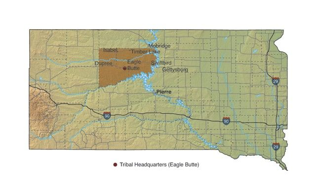 Cheyenne River Sioux Tribe Map  Beautiful Places  Pinterest