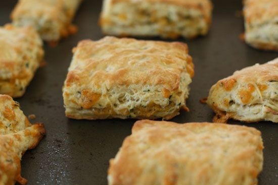 Cheese and Herb Biscuits | Recipe