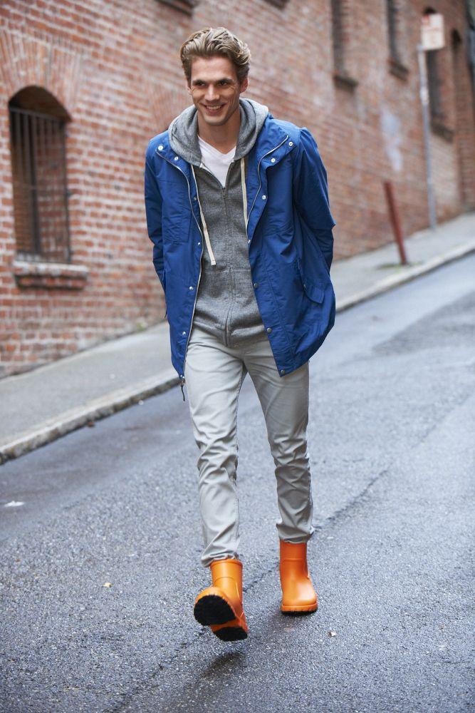 Fashion Rain Boots Men