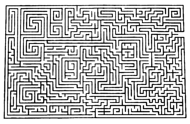 Most Difficult Maze Ever | and i finshed my maze. behold the greatest ...
