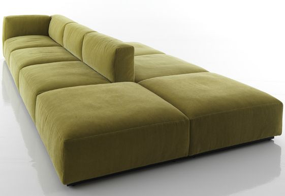 Double Sided Sofa : MEX CUBE FROM CASSINA  DOUBLE SIDED SOFAS  Pinterest