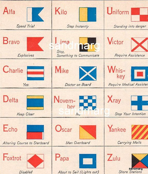 maritime flags of the world