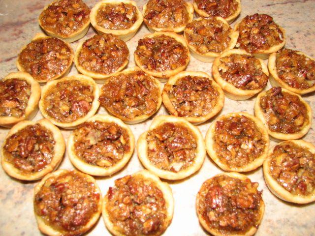 Pecan Tassies | Mini Pie Recipes | Pinterest