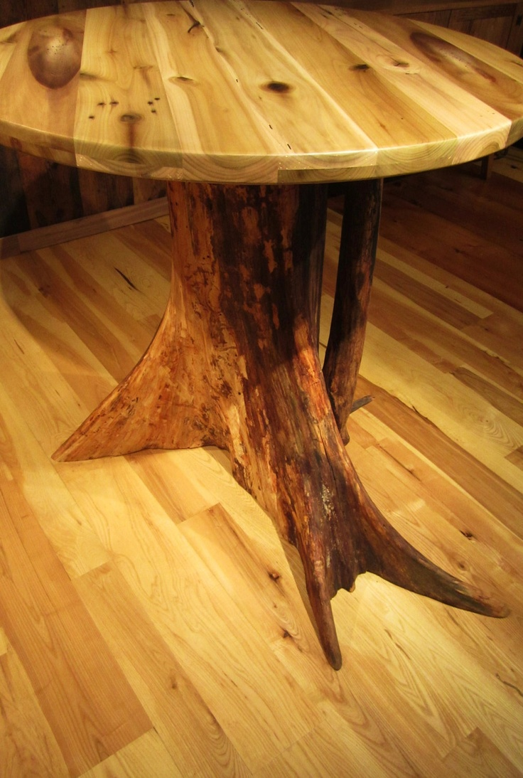 Dining Table Tree Trunk Dining Table