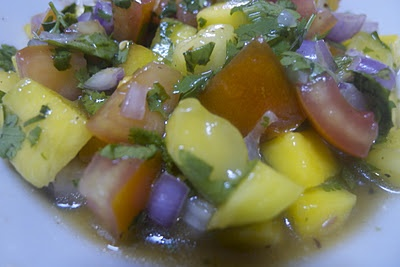 Fresh Fruit Salsa! | When food is love | Pinterest