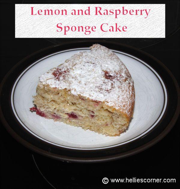 Lemon and Raspberry Sponge Cake   Food & Drink   Pinterest