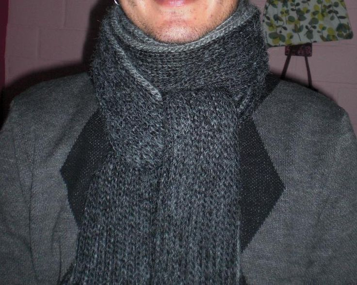 Crochet Mens Scarf : crochet mens scarf (love this pattern!) Crochet Projects Pintere ...