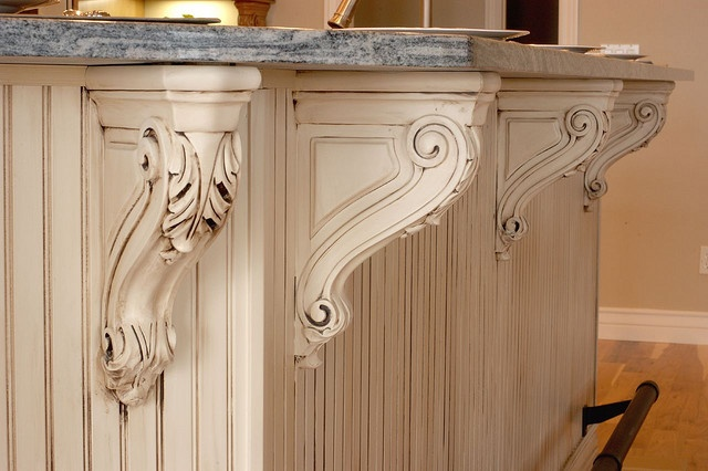 carved kitchen island corbels nesting pinterest