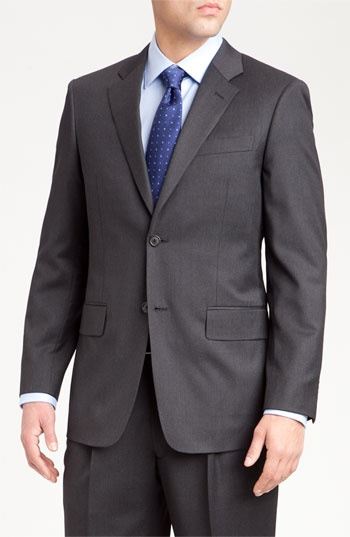 John W. Nordstrom® Travel Wool Suit available at #Nordstrom $495