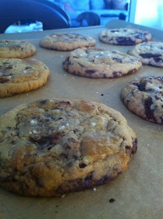 Thousand-Layer Chocolate Chip Cookies | Meant to be eaten | Pinterest