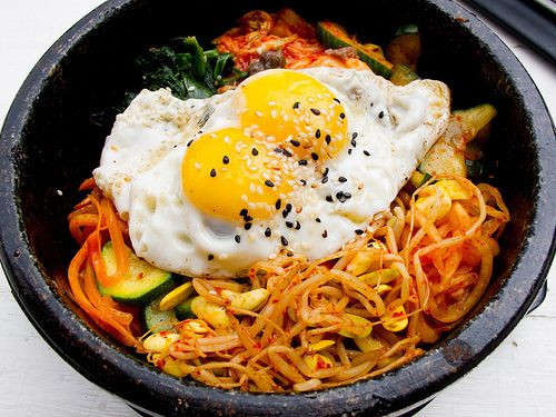 Dolsot bibimbap. Korean food. Love. | Food | Pinterest