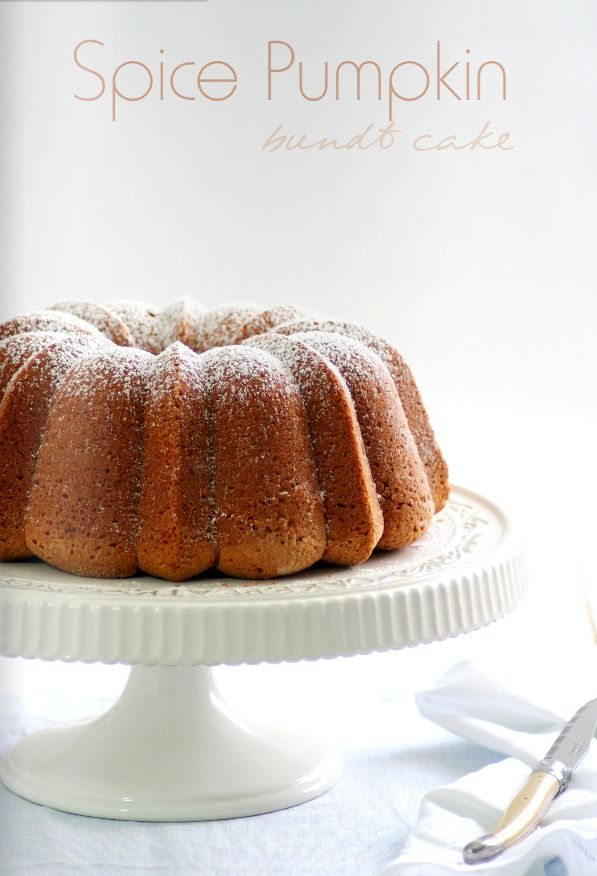 Spice Pumpkin bundt cake | Dessert | Pinterest