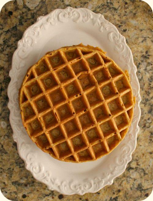 Pumpkin Hazelnut Waffles | Pancakes, Waffles, French Toast & Granola ...