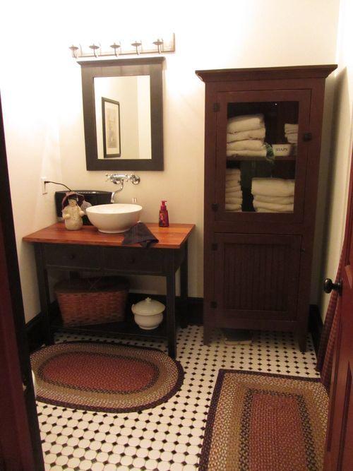 Love This Bathroom Primitive Country Decor Pinterest
