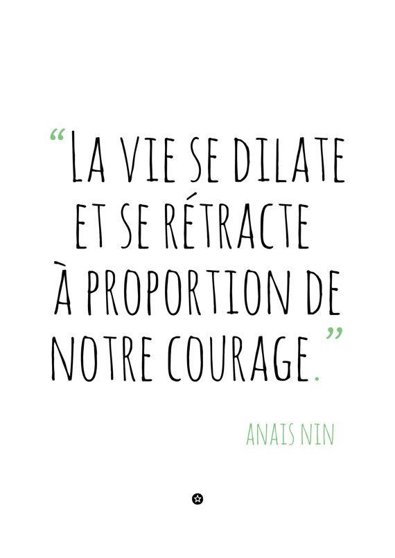 Quotes In French Best French Quote With Courage  The Best Collection Of Quotes
