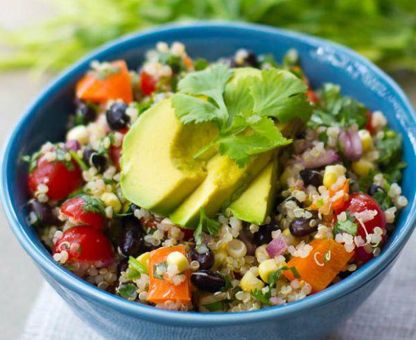 Mexican Quinoa Rice Bowl Recipe   Eat   Pinterest